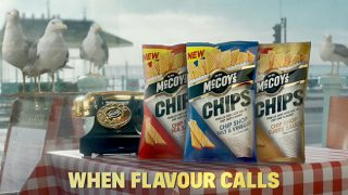 McCoy's Chips 'When flavour calls' ad
