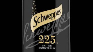 Schweppes anniversary packaging