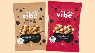 Vibe Feel Good popcorn