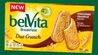 belVita duo crunch biscuits