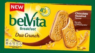 belVita duo crunch biscuits