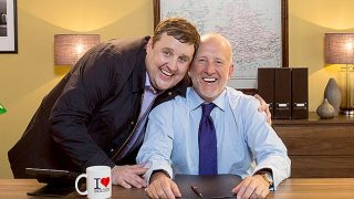 Peter Kay and Jonathan Warburton