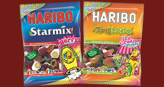 Haribo Summer Frenzy packs