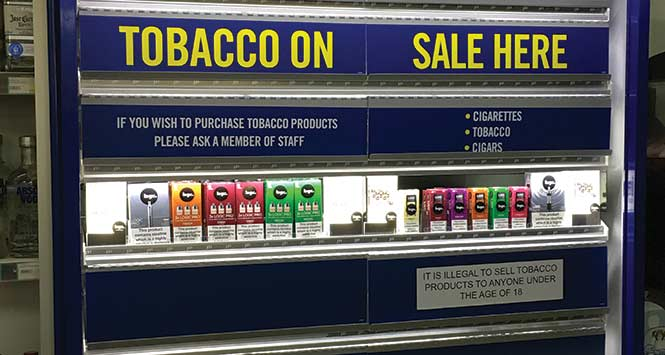 Tobacco gantry