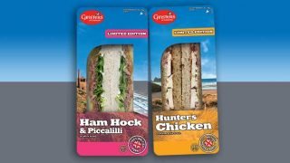 Ginsters sandwiches