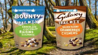 Bounty and Galaxy Trail Mixes
