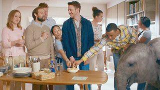 Still from KP Nuts TV ad
