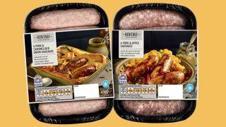 Nisa Heritage sausages