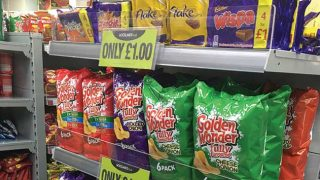 Woodlands Local promotional aisle