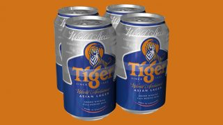 Tiger 4-can pack