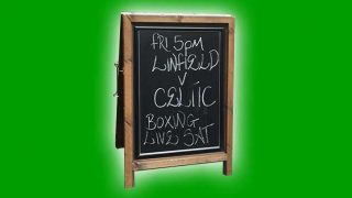 Clairvoyant advertising board