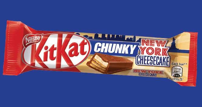 KitKat Chunky New York Cheesecake