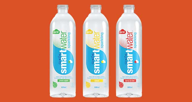 Carbonated drinks: glaceau smartwater