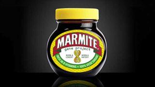 Marmite Gene Project jar