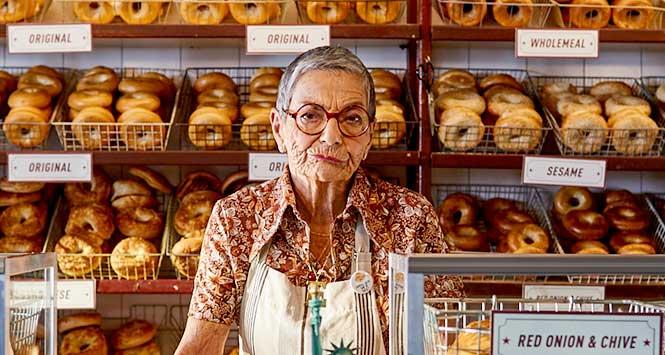 Edna, the woman who runs New York
