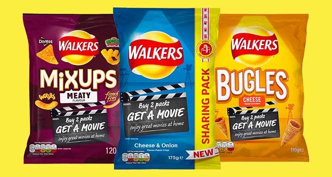 Walkers Movie Nights promotional packs