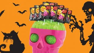 Chupa Chups Halloween skull