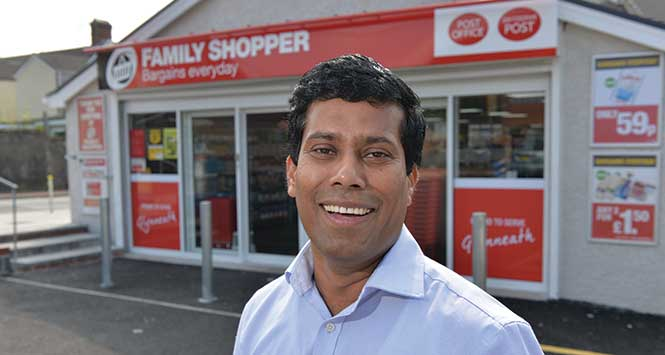 Family Shopper fascia