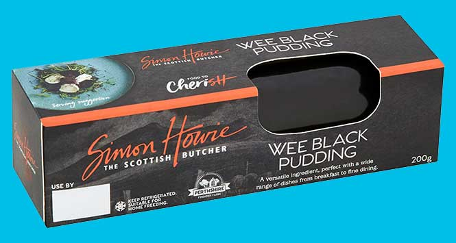 Simon Howie black pudding