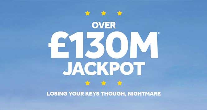 Euromillions jackpot poster