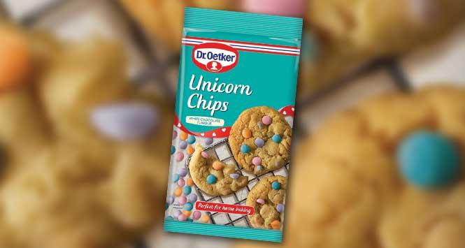 Dr Oetker unicorn chips