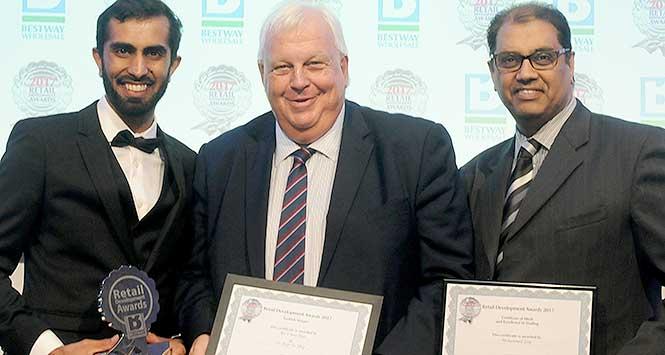 Umar Sher, Martin Race and Mohammed Issa