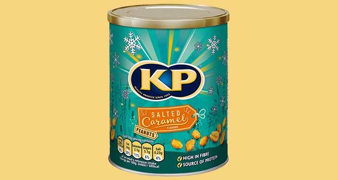 KP Nuts salted caramel variant