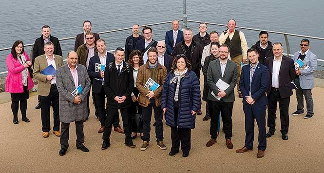 SGF study tour participants