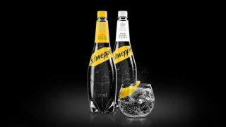 Schweppes' new skittle bottle