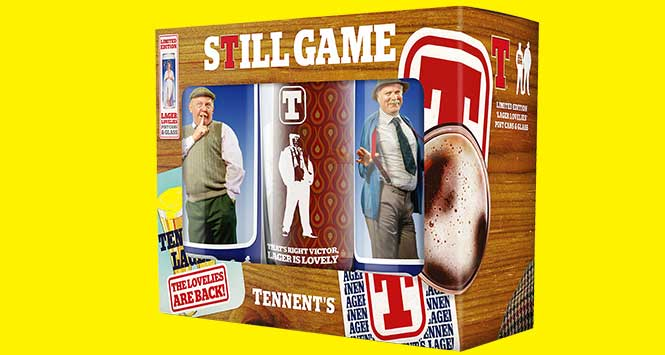 Still Game pack of Tennent's Lager