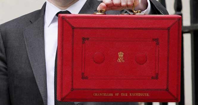 red budget box