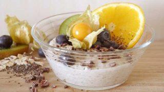 Very fancy porridge