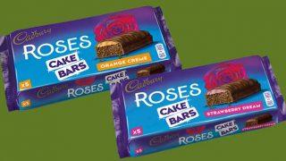 Cadbury Roses Cake Bars
