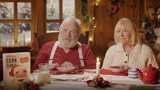 Santa in Kellogg's ad