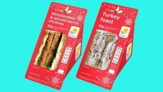 Spar's festive sandwich range