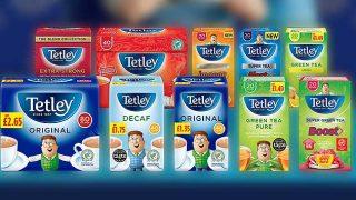 Tetley Tea range