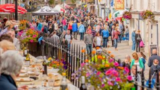 food tourism on the streets of Scotland