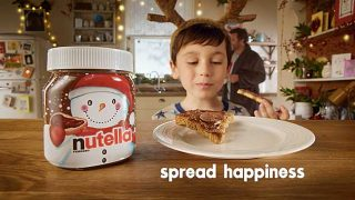 Nutella Christmas advert