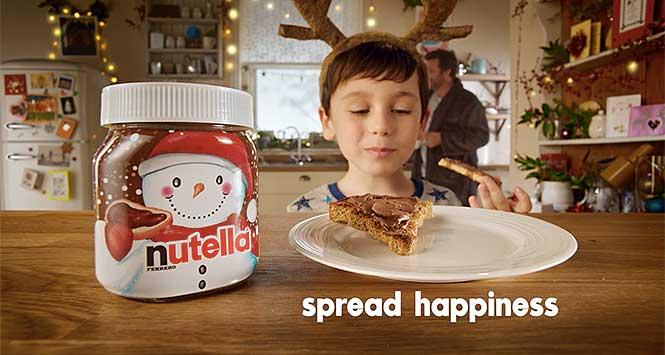 Nutella Christmas advert