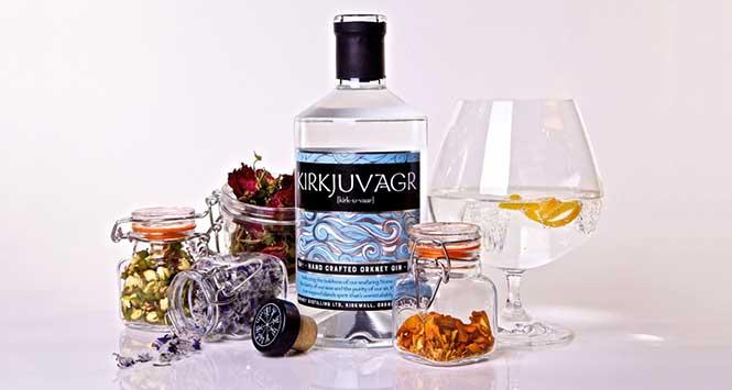 Kirkjuvagr Gin from Orkney Distilling