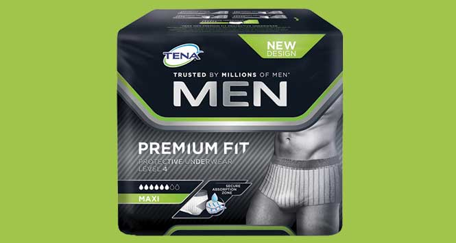 Tena men incontinence briefs