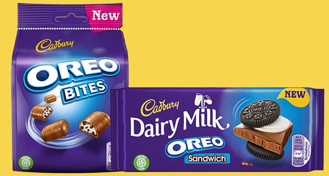 Cadbury Oreo products