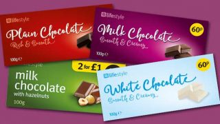 Landmark's chocolate range