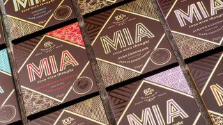 MIA chocolate bars