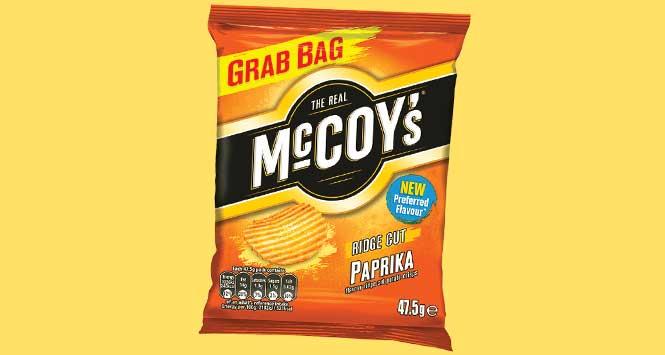 McCoy's paprika flavour
