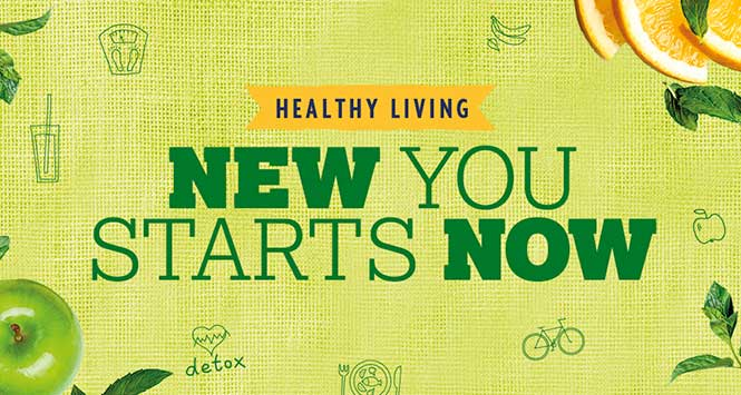 New you starts now