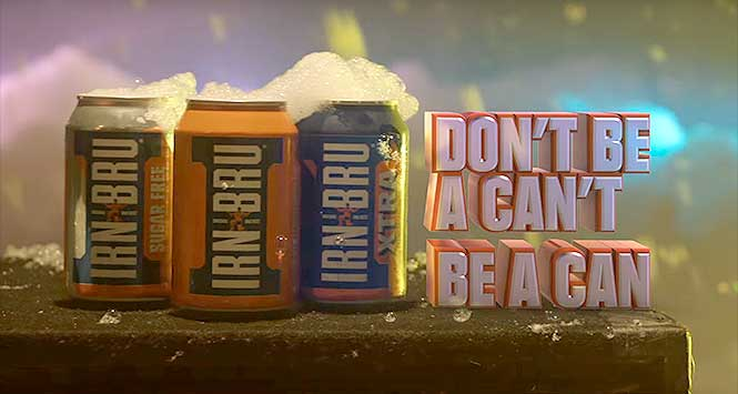 Irn-Bru advert