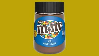 M&M's Crispy chocolate spread