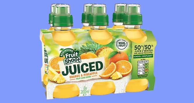 Fruit Shoot Juiced