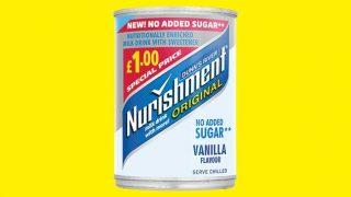 Nurishment no added sugar £1 PMP